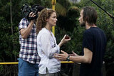 Leslie Hope and Joe Anderson in The River. 