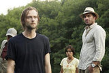 Joe Anderson, Paulina Gaitan, and Paul Blackthorne in The River. 