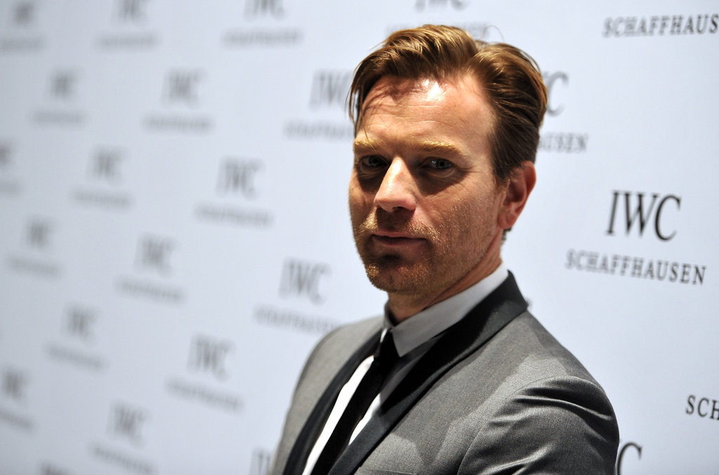 Ewan McGregor walked the red carpet in Geneva.