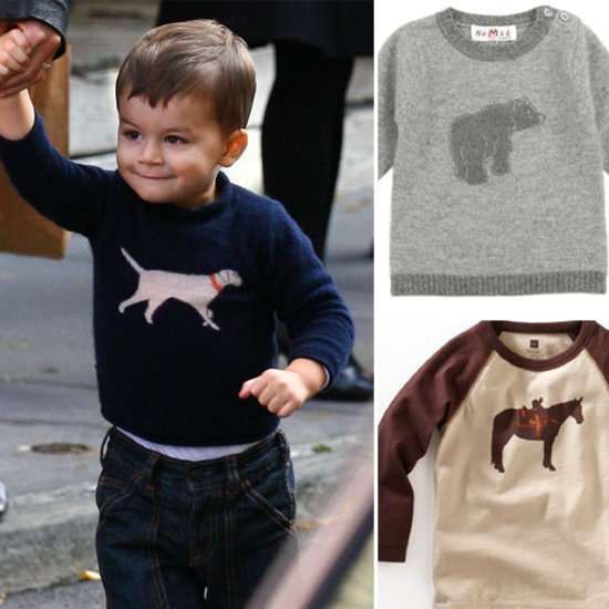 Get Benjamin's Look: 5 Sweet Animal Pullovers