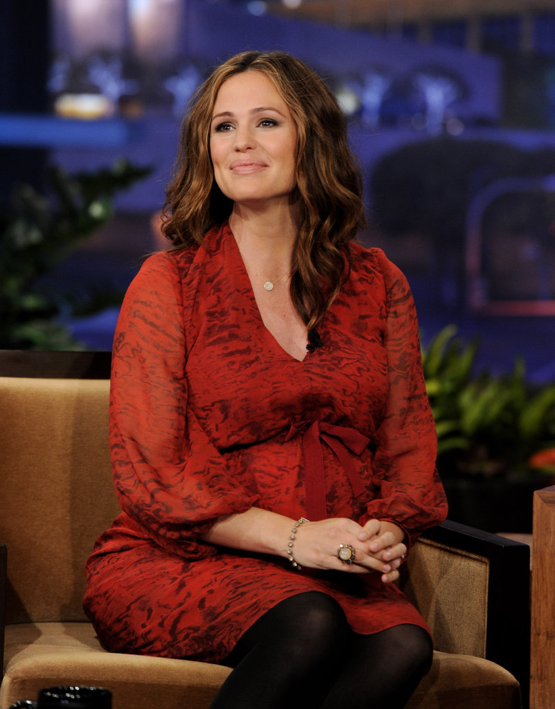 Jennifer Garner was pretty for a TV appearance.