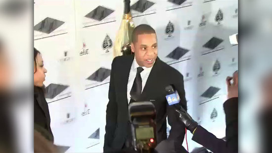 Video: New Dad Jay-Z Makes His First Public Appearance Since Blue Ivy's Birth!