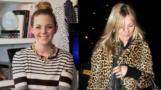 On the Prowl For Kate Moss's Cool Leopard Coat