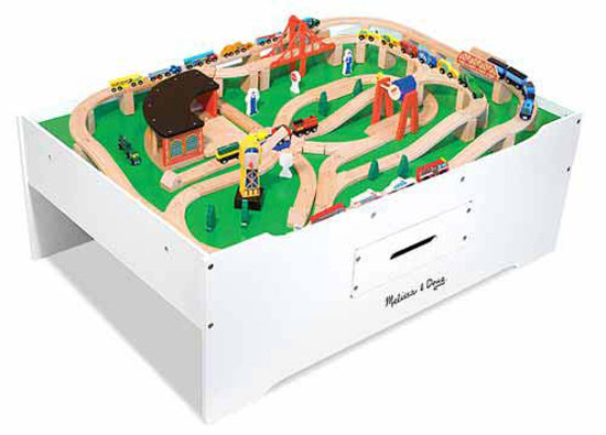 Melissa & Doug Multi-Activity Train Table ($150)