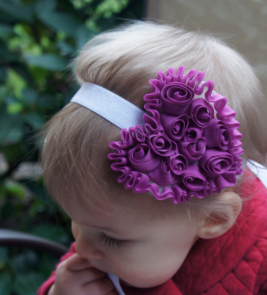 Purple Heart Headband