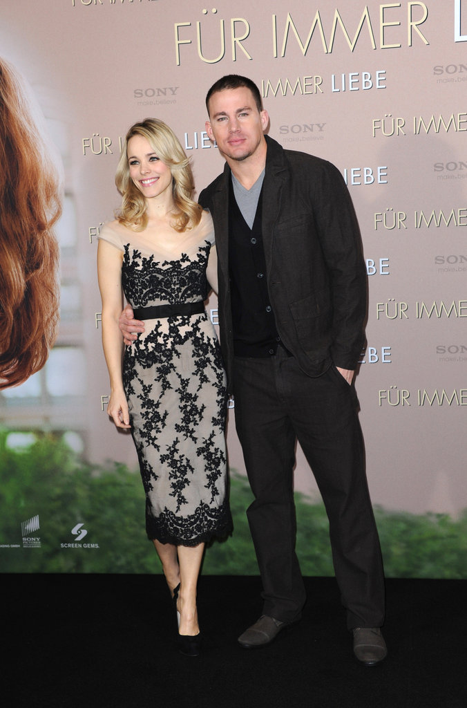 Channing Tatum and Rachel McAdams brought The Vow to Germany.