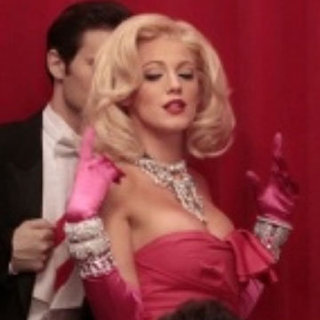 Blake Lively Dressed as Marilyn Monroe on Gossip Girl