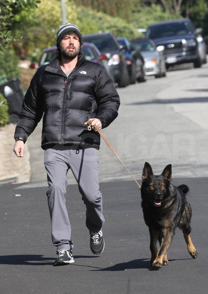 Ben Affleck was out for a stroll in LA.