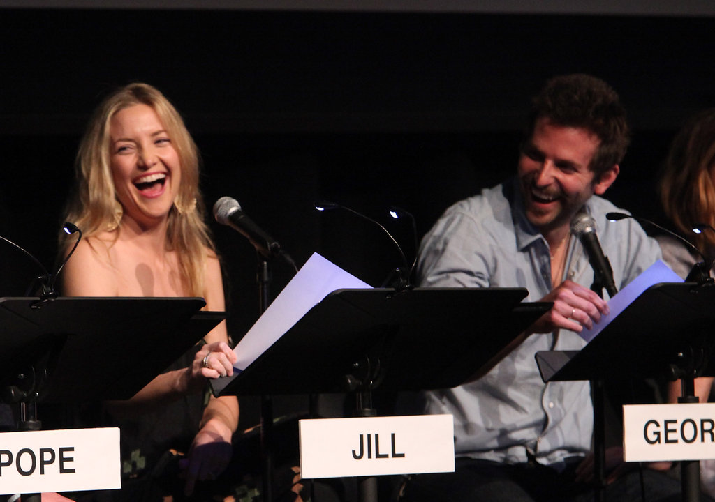 Kate Hudson and Bradley Cooper attended the Film Independent at LACMA Live Read of Shampoo.