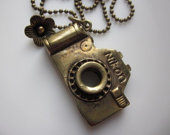 Photo-Ready Camera necklace ($9)
