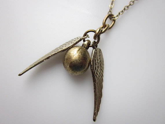 Golden Snitch necklace ($9)