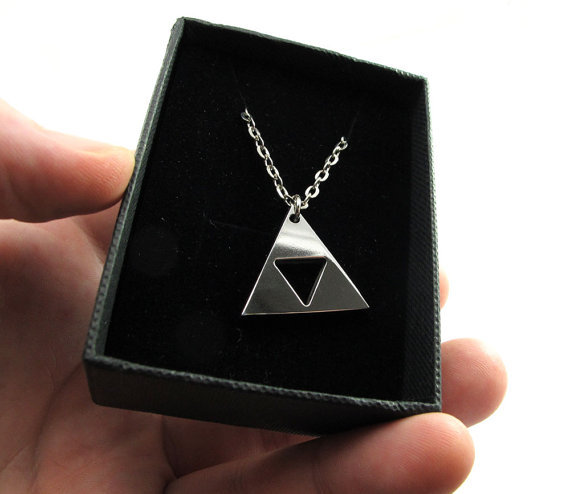 Legend of Zelda Triforce necklace ($36)