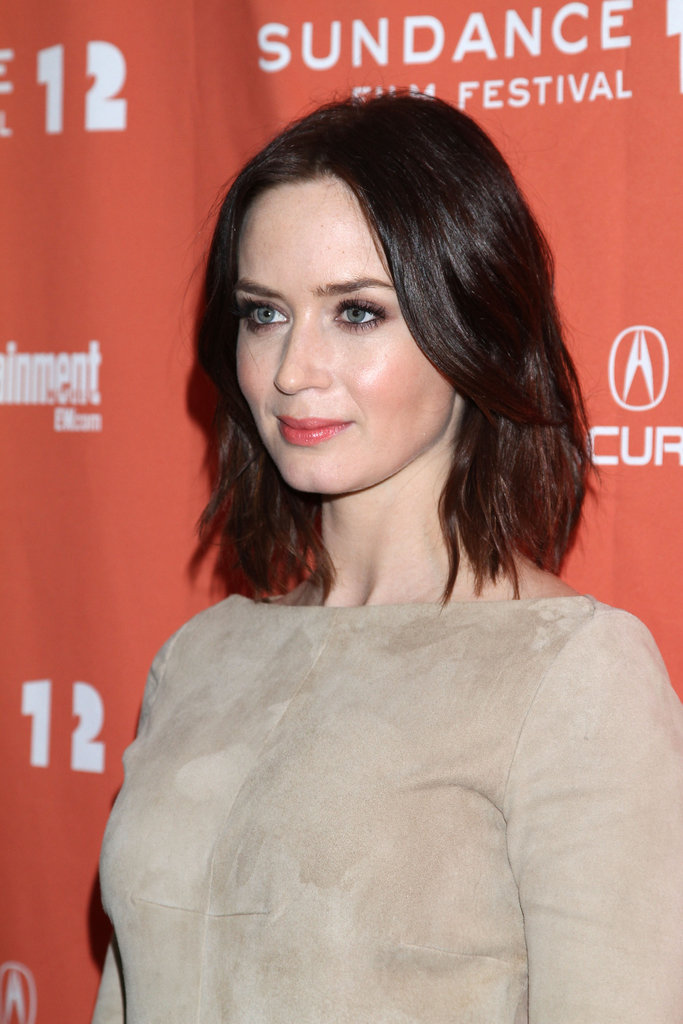 Emily Blunt went to the premiere of Your Sister's Sister in Park City.