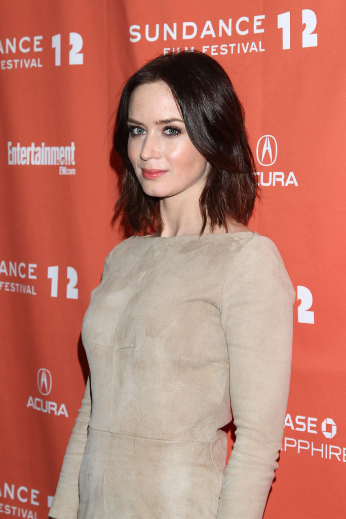 Emily Blunt attended a film premiere at Sundance.