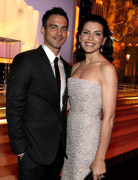 Keith Lieberthal and Julianna Margulies