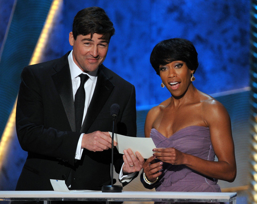 Kyle Chandler and Viola Davis