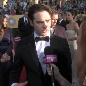 Vincent Piazza on SAG Awards 2012 Red Carpet (Video)