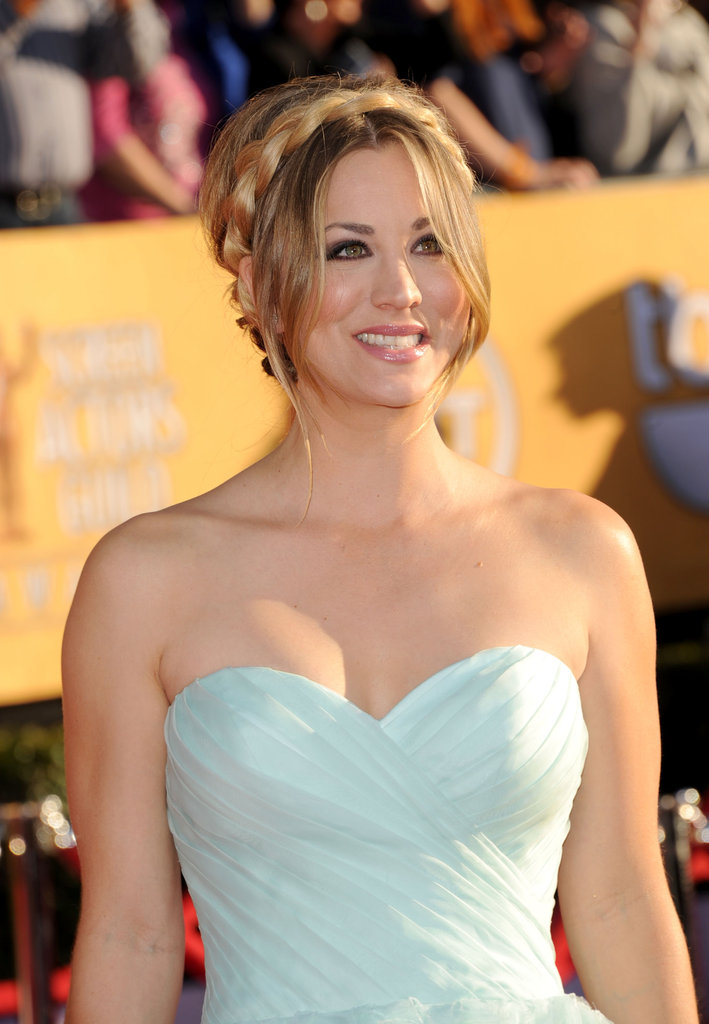 Kaley Cuoco at the SAG Awards