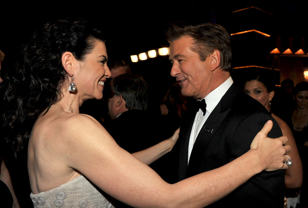 Julianna Margulies met up with Alec Baldwin.