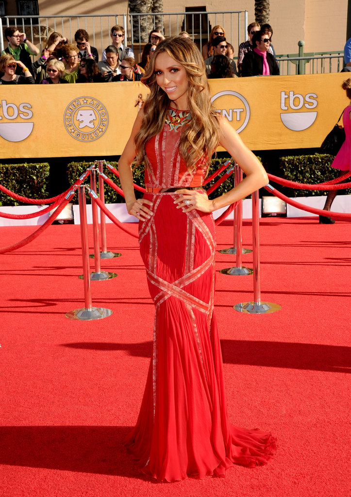 Giuliana Rancic at the SAG Awards