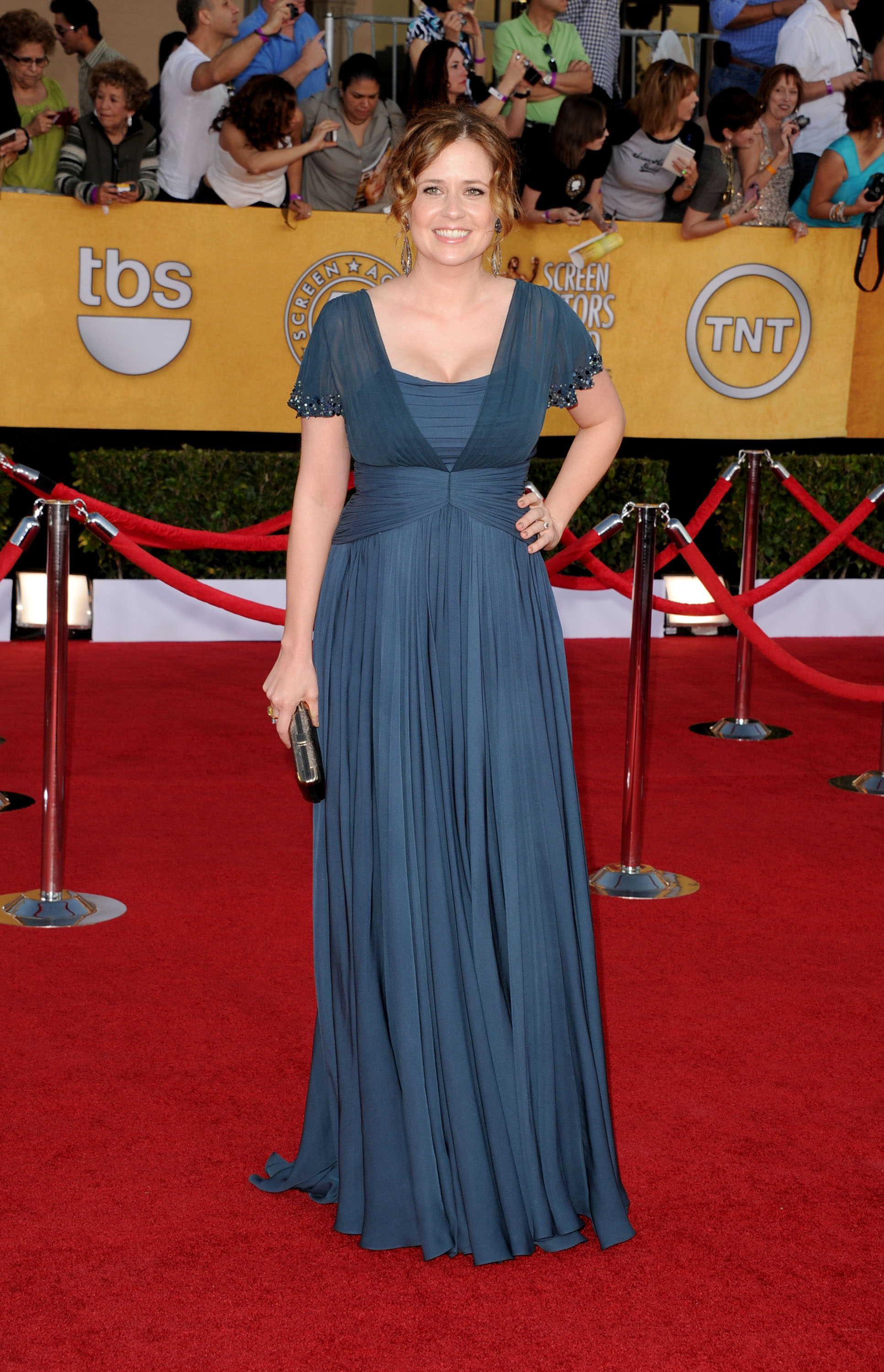 Jenna Fischer at the SAG Awards