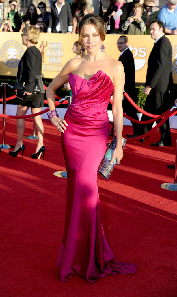 Sofia Vergara looked hot at the 2012 SAG Awards.