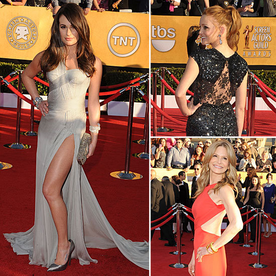 SAG Awards Trendspotting: Sexy Splits and Cut-Outs