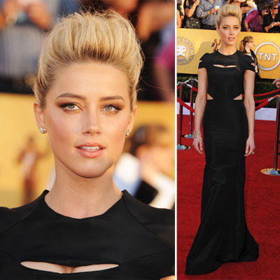 Amber Heard at the SAG Awards 2012