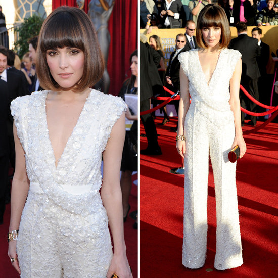 Rose Byrne in Elie Saab at the SAG Awards 2012