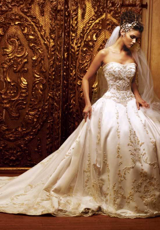 Just take a moment to view our examples object around white and gold wedding