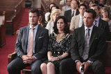 Mark Deklin, Miriam Shor, and David James Elliott in GCB. Photos copyright 2012 ABC, Inc.