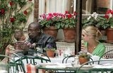 Heidi and Seal sat down for an LA lunch in 2006.