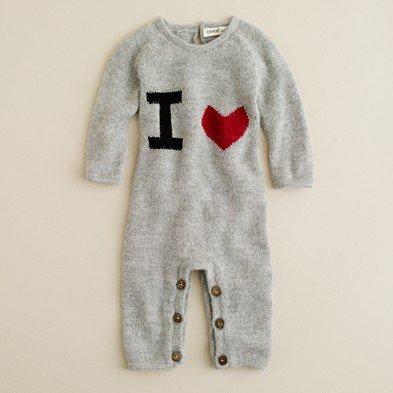 Oeuf I Heart Baby Jumper ($88)