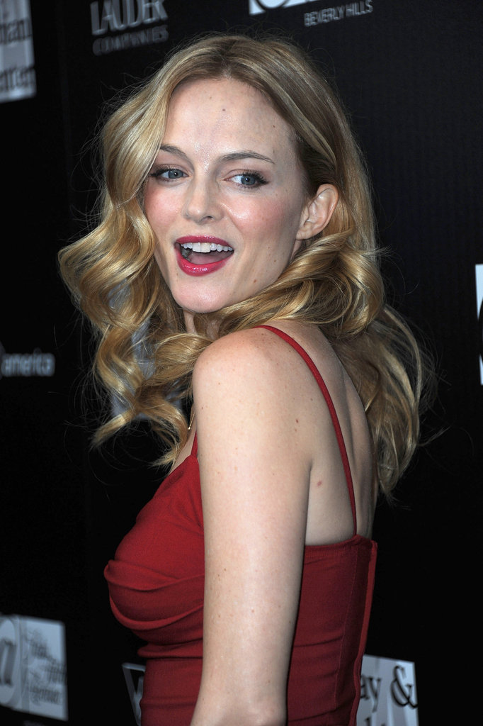 Heather Graham stepped out for a charitable cause.