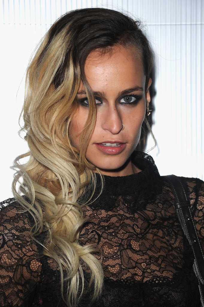 Alice Dellal checked out the Chanel show.
