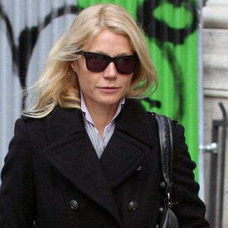 Gwyneth Paltrow Arriving in Paris Pictures