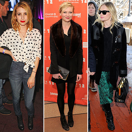 The Best Displays of Wintry-Outfit Excellence at Sundance Film Fest 2012