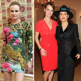 Diane Kruger and Salma Hayek Help Launch Versace Eyewear
