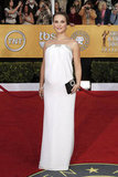 Natalie Portman at the 2011 SAG Awards