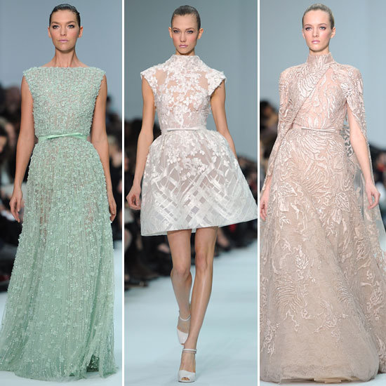 Review and Pictures of the Elie Saab Runway Show at 2012 Paris Haute Couture Fashion Week