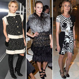 Celebrity Style from 2012 Couture Fashion Week in Paris