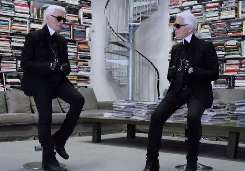 Karl Interviews Himself, Fashion News January 26, 2012