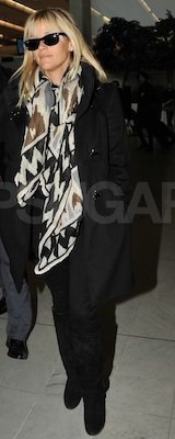 Reese Witherspoon Printed Scarf Paris