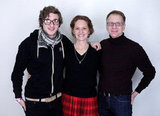Phil Dorling, Melissa Leo, and Ron Nyswaner looked lovely in this photo to promote their movie Predisposed.