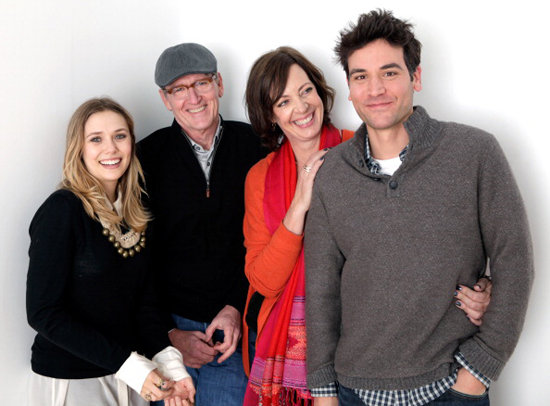 Elizabeth Olsen, Richard Jenkins, Allison Janney, and Josh Radnor took a sweet shot for Liberal Arts.