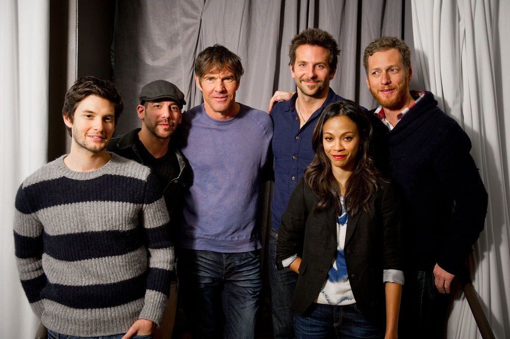 Zoe Saldana and Bradley Cooper Make a Smiley Sundance Appearance Together