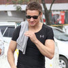 Jeremy Renner Filming The Bourne Legacy in Manila Pictures