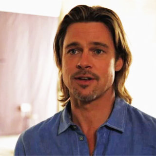 Brad Pitt Hollywood Reporter Interview (Video)