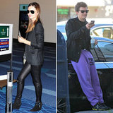 Miranda Kerr Leaves Tokyo as Orlando Bloom Brightly Hangs in LA