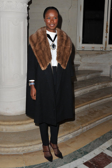 Paris Haute Couture Spring '12 Front Row